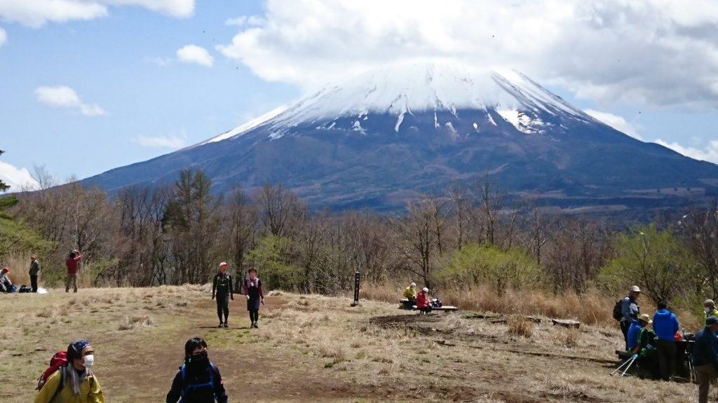 三湖台より富士